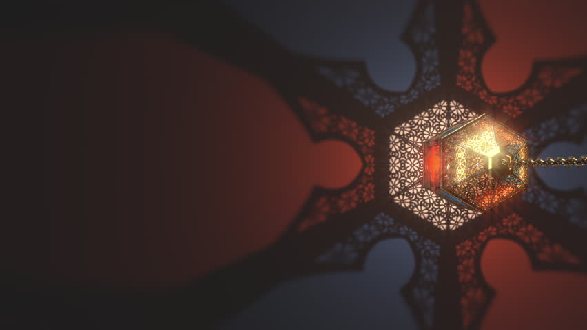 Ramadan candle lantern slow speed loop animation (32 sec), Featuring such intricate patterns and cut work like an exotic treasure. Buy it now and start using this quality video in your design.