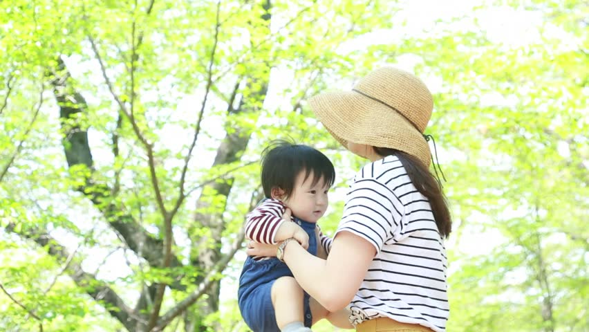 Asian baby with mom   Shutterstock HD Video #26768971