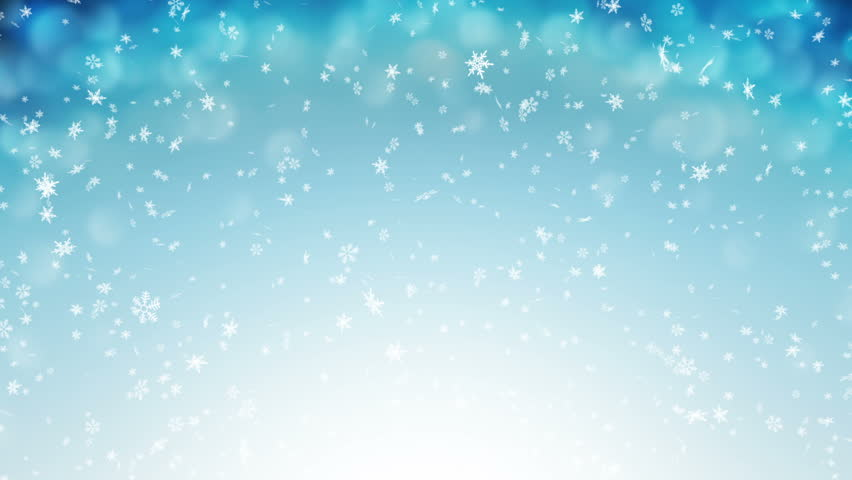 falling snowflakes background loop free motion graphics