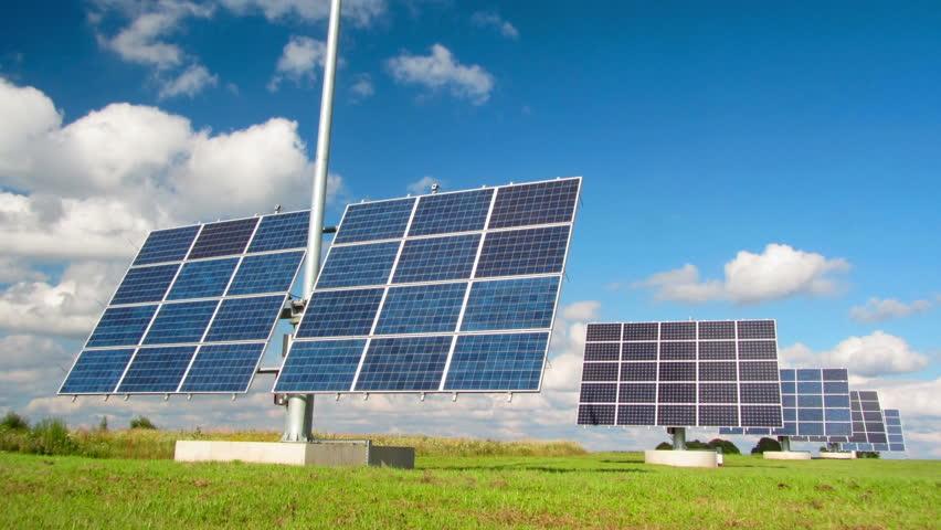 Solar panels, timelapse | Shutterstock HD Video #2683331