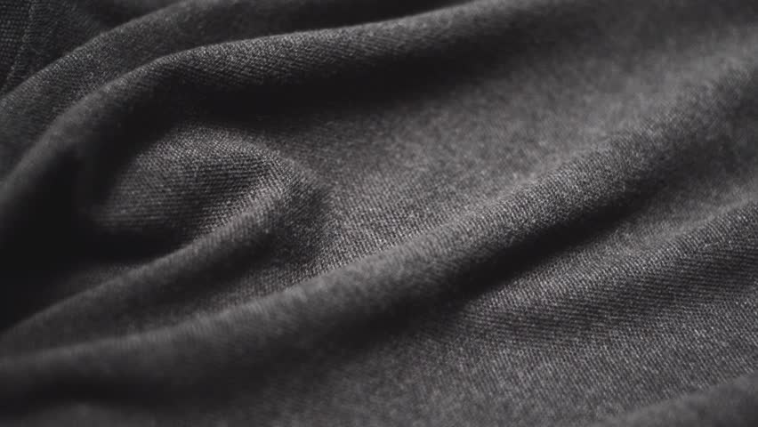 Grey cotton fabric. Use as a background.