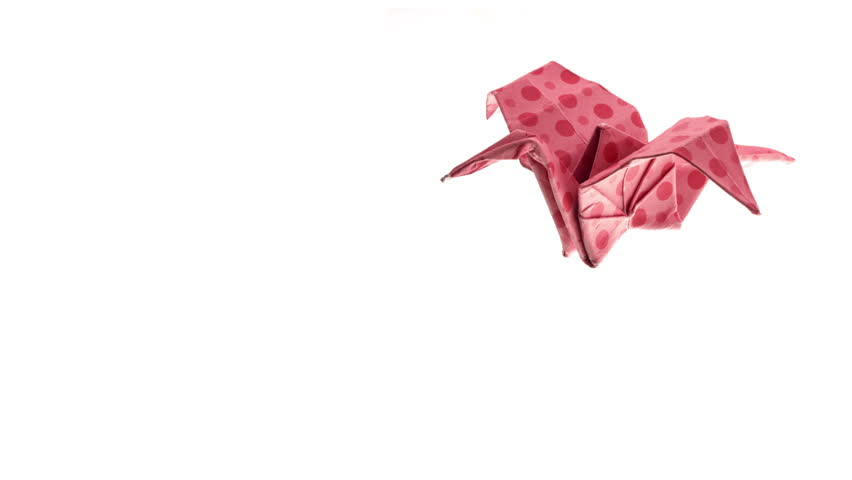 Beautiful Blue Origami Crane Animated More On The Gallery Origami