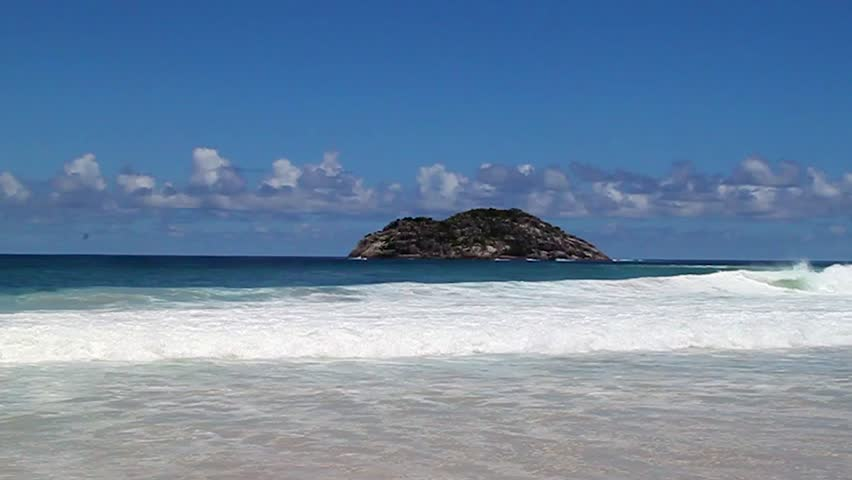 The Indian Ocean At The Seychelles Islands The Island Country - Seychelles victoria map indian ocean