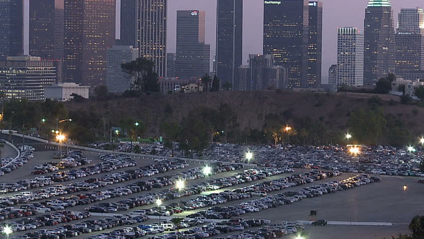 Los Angeles City Skyline with Stock Footage Video (100% Royalty-free)  2696801 | Shutterstock