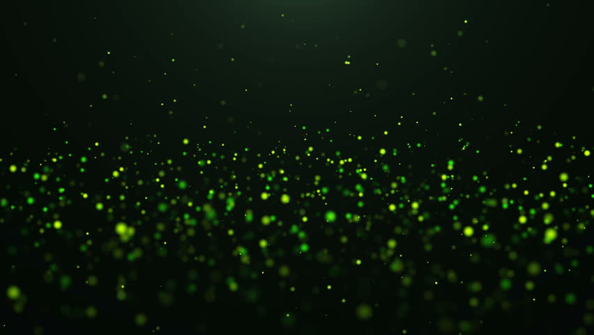 Abstract Green Backgrounds Loop Stock Footage Video 100 -7255