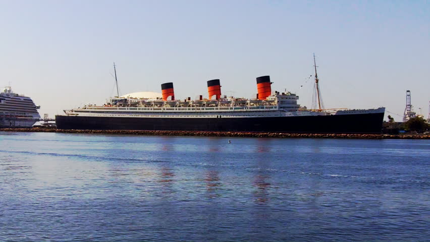 Queen Mary Long Beach Stock Video Footage 4k And Hd Clips Shutterstock
