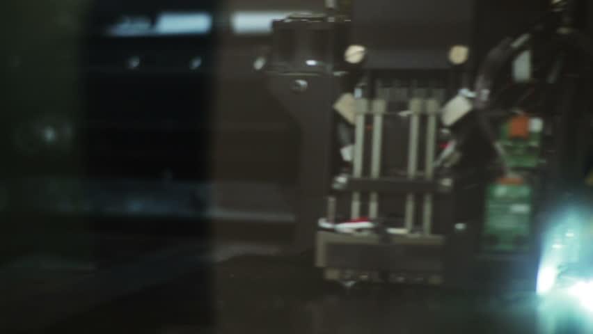 3d printer at work   Shutterstock HD Video #2713955