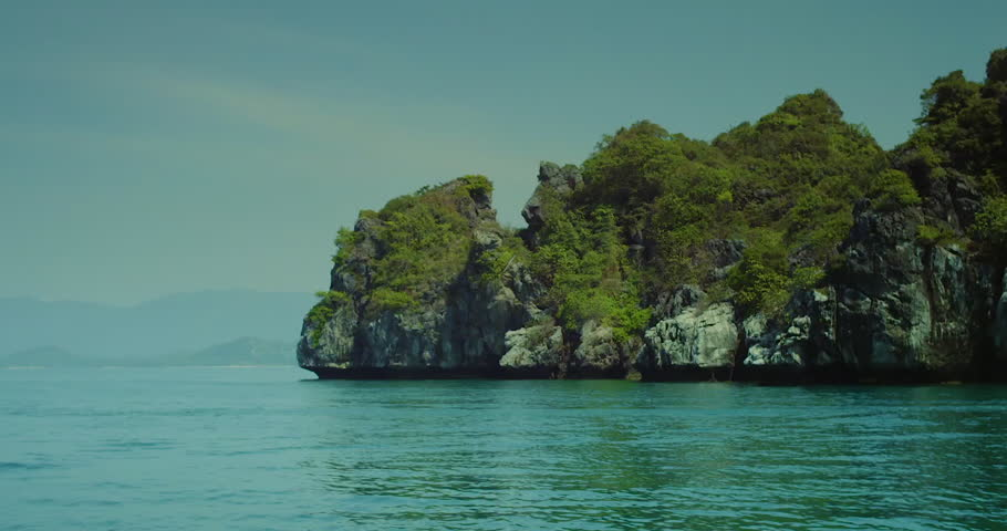 Beautiful Deserted Islands In The Stock Footage Video 100 Royalty