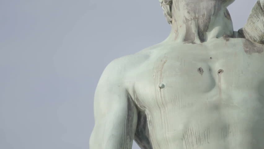 David by Michelangelo in bronze, Florence Tuscany Italy