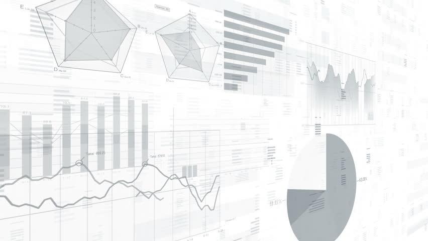 Business data graph digital world space. | Shutterstock HD Video #27301441