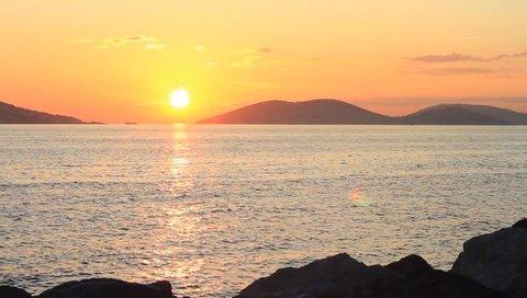 Marmara Sea at Sunset