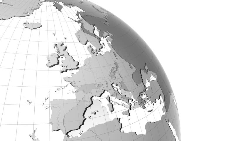 Zoom to japan globe with transparent oceans and very detailed clean earth globe with transparent oceans and very detailed texture map zoom to europe gumiabroncs Choice Image