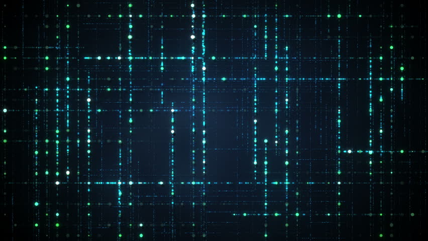 Abstract techology data grid. Computer generated seameless loop animation 4k (4096x2304)   Shutterstock HD Video #27539101