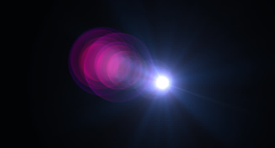 Cinema lens flare  for transition | Shutterstock HD Video #27574171