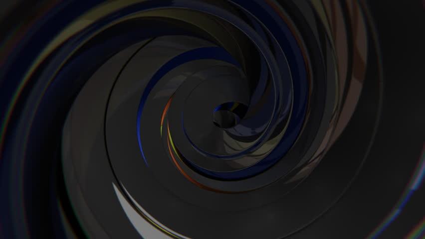 3D Dark Swirl | Shutterstock HD Video #27761281