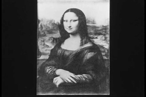 1930s: Polymath Leonardo da Vinci produced sketches, designs, the Mona Lisa painting, the David sculpture and the dome at St. Peter's Basilica, in Italy, during the Renaissance.