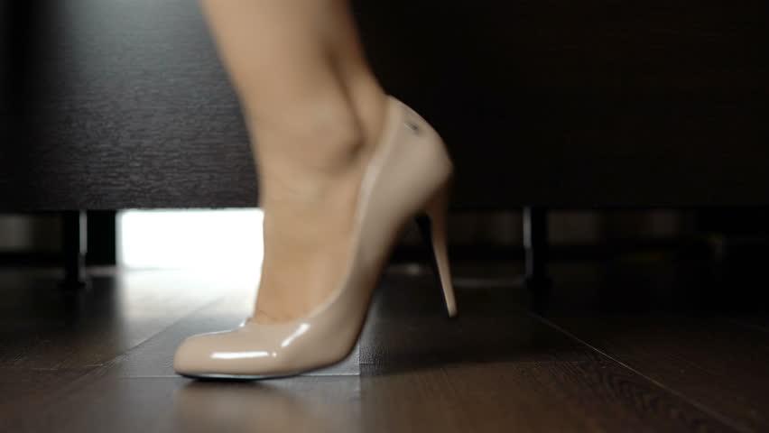 Female Feet In High Heels Stock Footage Video (100% Royalty Free) 28268791    Shutterstock