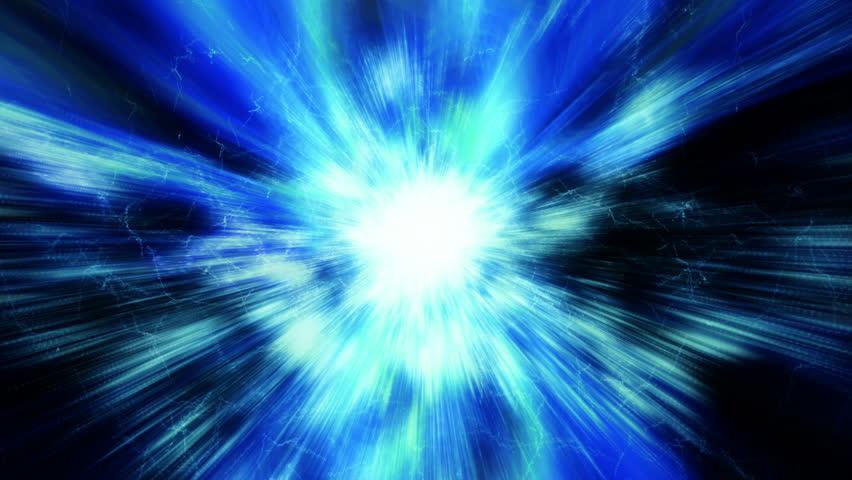 Space 2074: A Supernova bursts light (Loop). #28421521