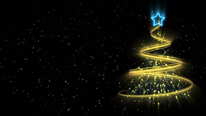 Christmas Tree Background - Merry Christmas 52 (HD)   Shutterstock HD Video #2844301