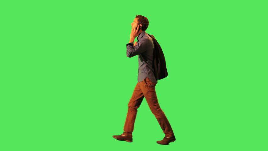 Male walking to work | Shutterstock HD Video #2851081