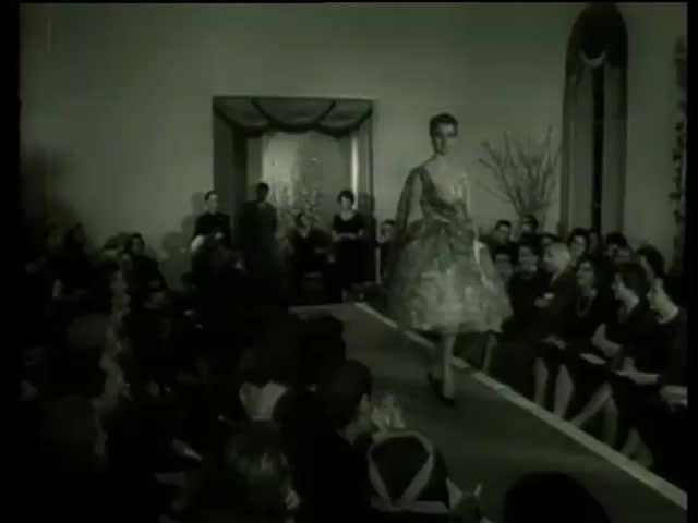 Fashion Parade in Italy circa 1958-MGM PICTURES, UNIVERSAL-INTERNATIONAL NEWSREEL, USA, filmed in 1958