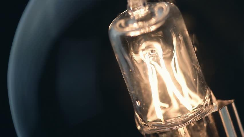 Blinking bulb