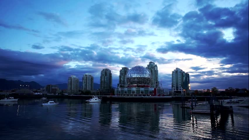 Vancouver science world morning timelapse | Shutterstock HD Video #28607971