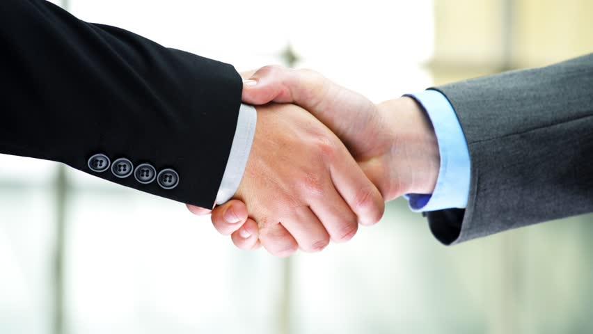 Car rental agreement handshake two businessmen shaking hands high definition video   Shutterstock HD Video #2880220