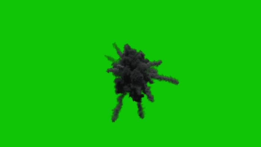 Aerial Explosion Bomb Fire Green Stock Footage Video (100% Royalty-free)  28860211   Shutterstock