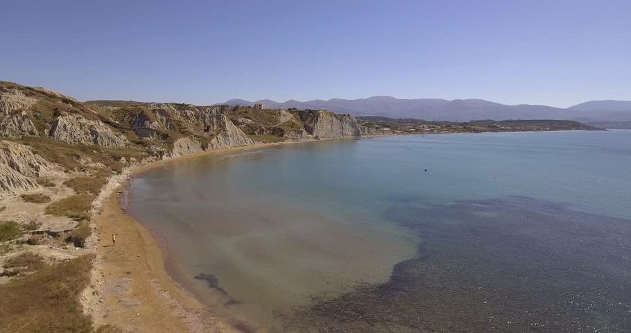 Lassi Beach Palostrafida, near famous Platis Gialos beach and Makris Gialos beach in Argostoli, Kefalonia, Greece