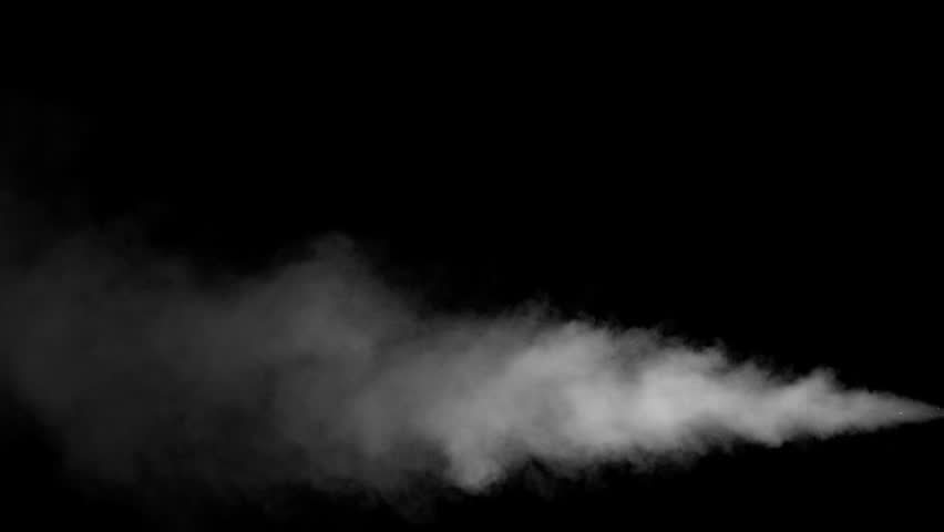 White water vapour on a black background. Close-up shot | Shutterstock HD Video #28955971