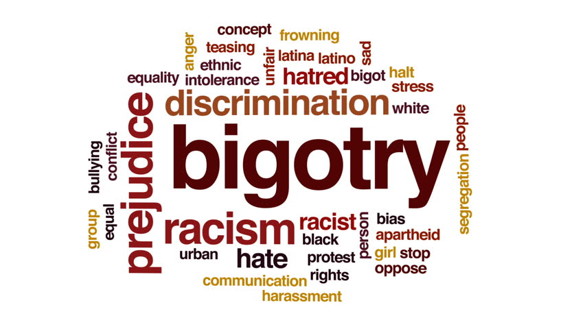 another word for bigotry