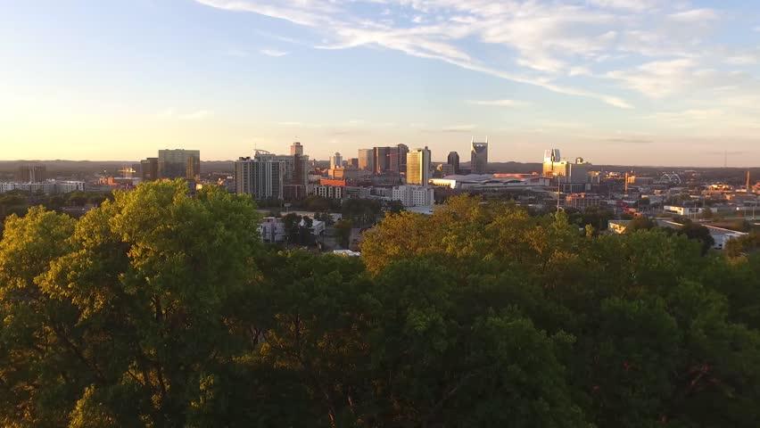 Nashville skyline in the Fall | Shutterstock HD Video #28992481
