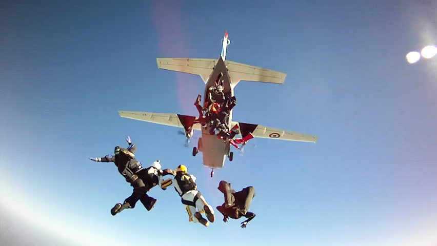 Skydiving Exit