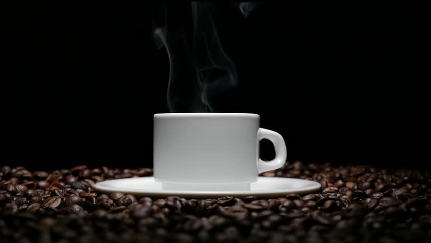 9 Motion Coffee Table Spilling Coffee Stock Photo Image