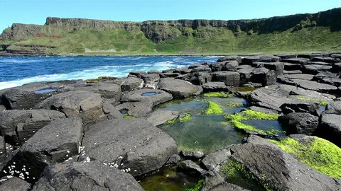Landascapes of Ireland. Giant's Causeway, Northern Ireland