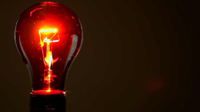 Light Bulb Covered In Blood Flickering Stock Footage Video 2937391 ...