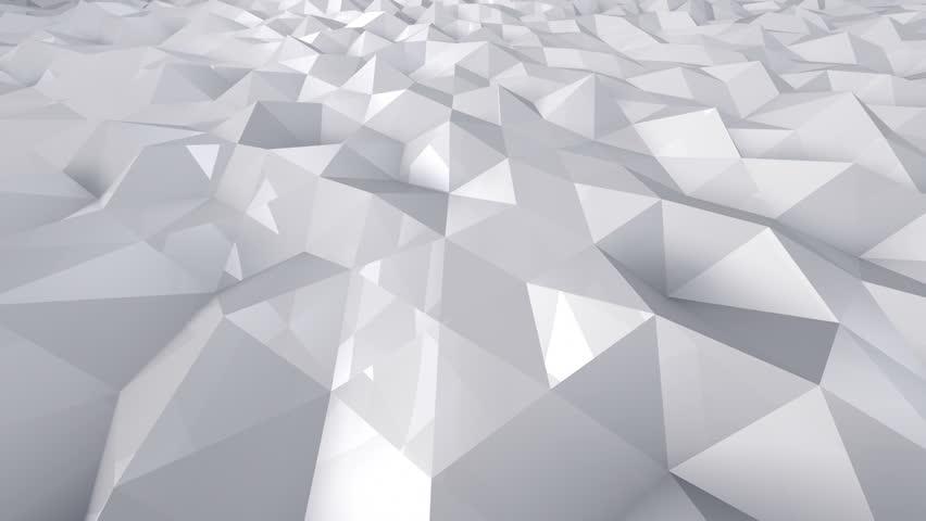 Geometric Triangle Wall waving background. | Shutterstock HD Video #29607781