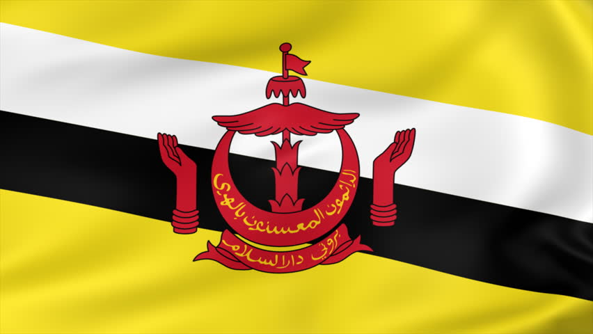 Animated Flag of Brunei - Stock Footage Video (100% Royalty-free) 2965981  Shutterstock