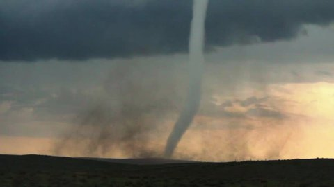 Rope Tornado Medium Shot - Eckley, CO