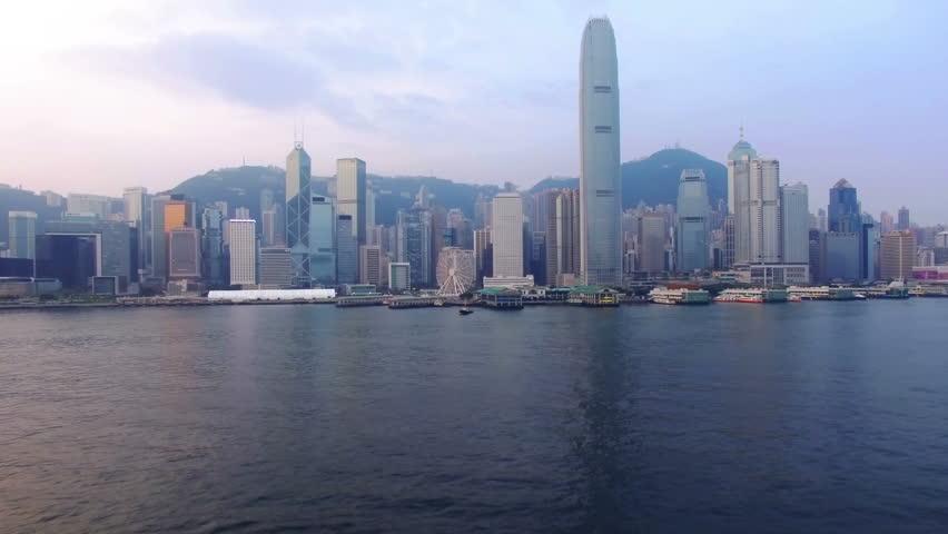 Hong Kong by drone. | Shutterstock HD Video #29752771