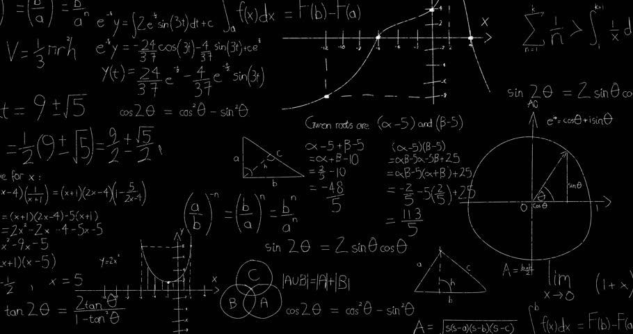 math blackboard background hd - photo #14