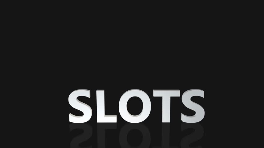 Slots Concept with Gold Coins Falling From the Sky