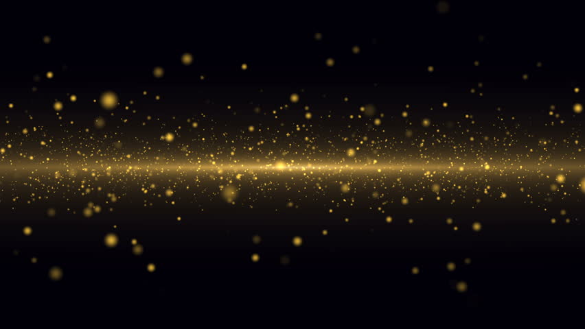 Gold Particles Background. Loop | Shutterstock HD Video #29829541