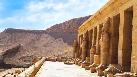 The great temple of Hatshepsut, Karnak, Luxor, Egypt