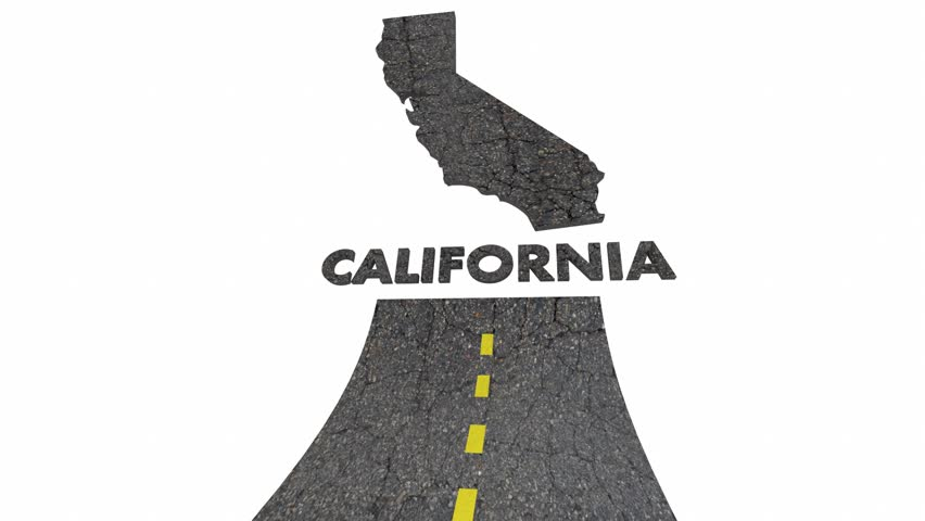 California Ca Road Map Word Stock Footage Video (100% Royalty-free)  29957911 | Shutterstock