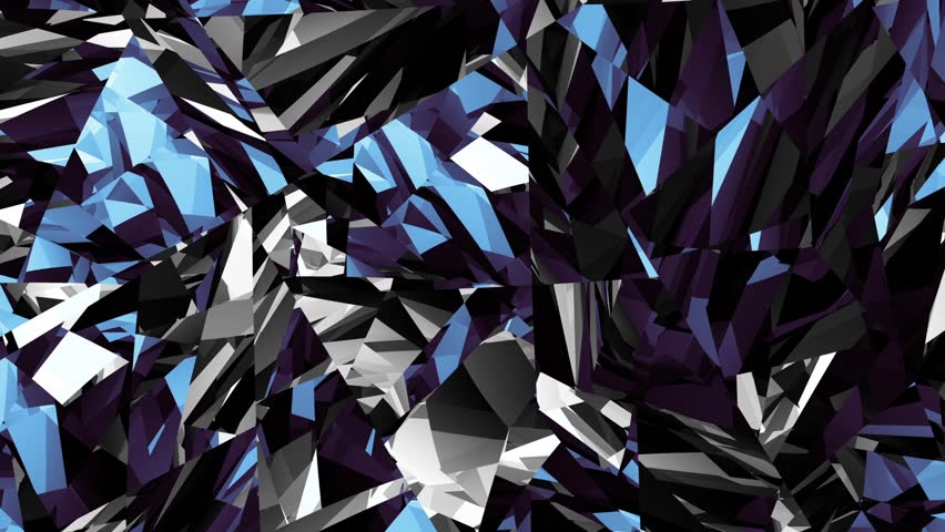 Abstract geometric moving shapes. Seamless loop abstract motion background. | Shutterstock HD Video #29966011