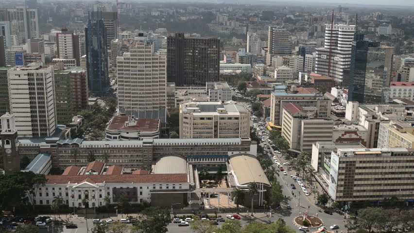 Nairobi skyline from Kenyatta International Conference Centre, Nairobi, Kenya #30022171