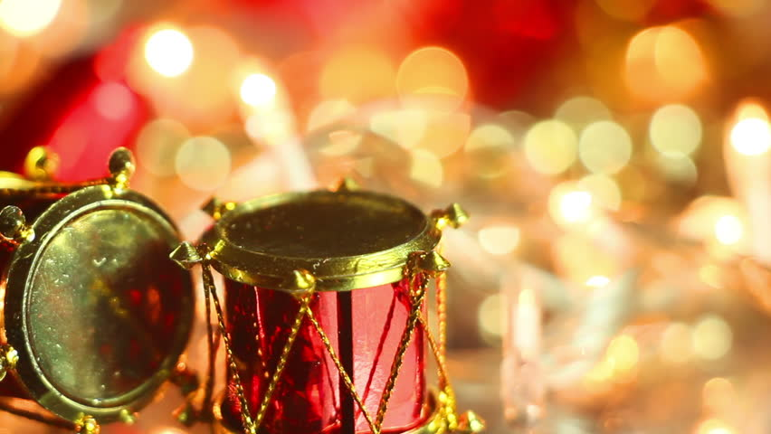 Christmas Drum.Christmas Red Drum Gold Stock Video Footage 4k And Hd Video Clips Shutterstock