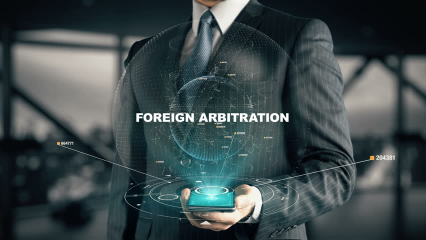 Businessman with Foreign Arbitration | Shutterstock HD Video #30170311